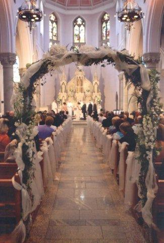 Church Wedding Arch Decoration Gallery Wedding Dress