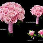 Pink Rose Bridal Package £190